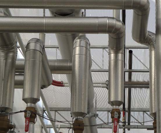 Pipe Insulation | Commercial Greenhouse Structures | Systems